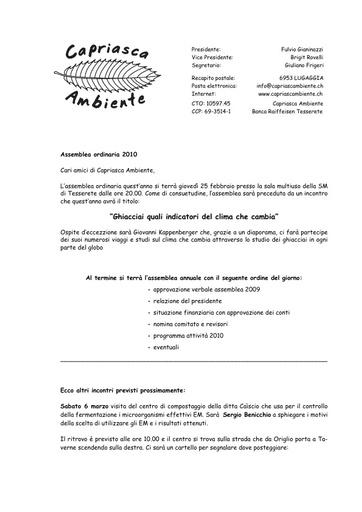 Programma 2010